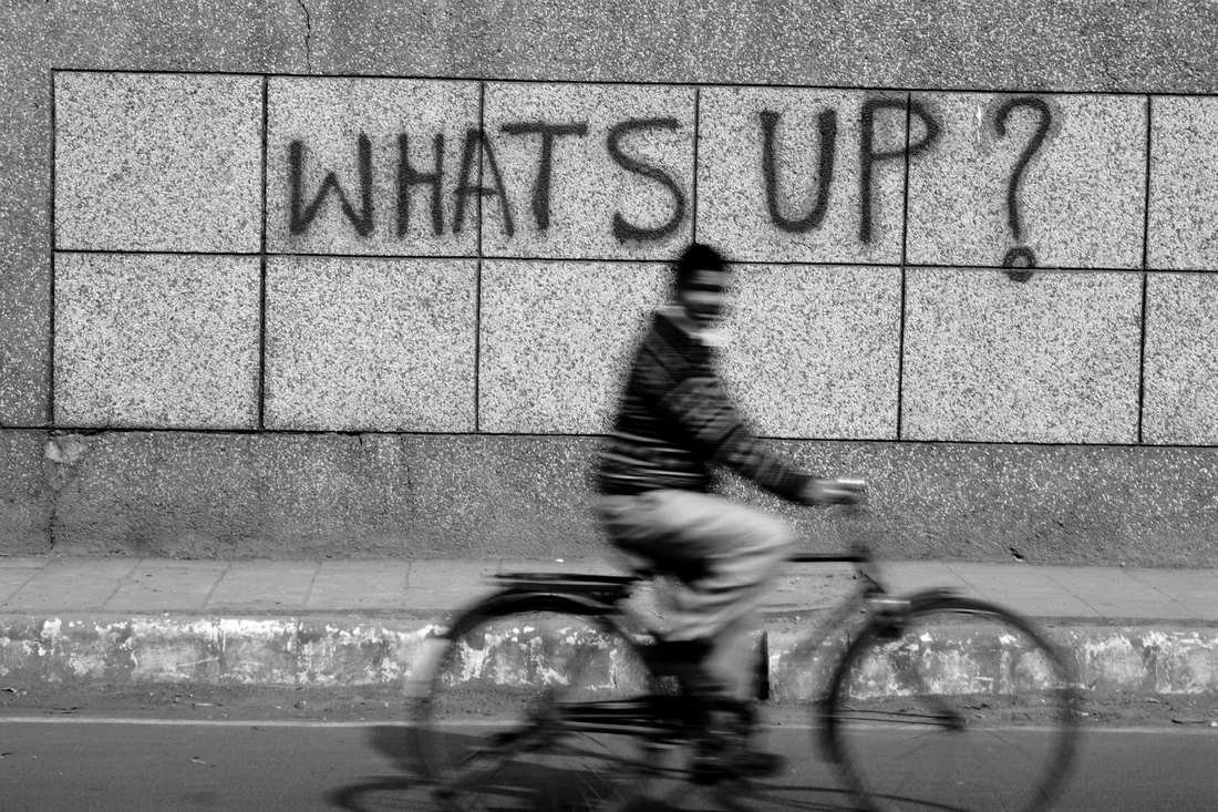 What's Up - Fineart photography by Jagdev Singh