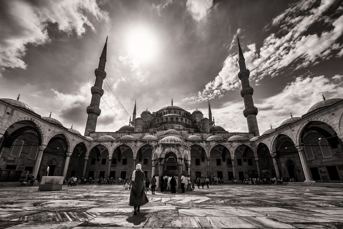 Mosque - Fineart photography by Christian Köster