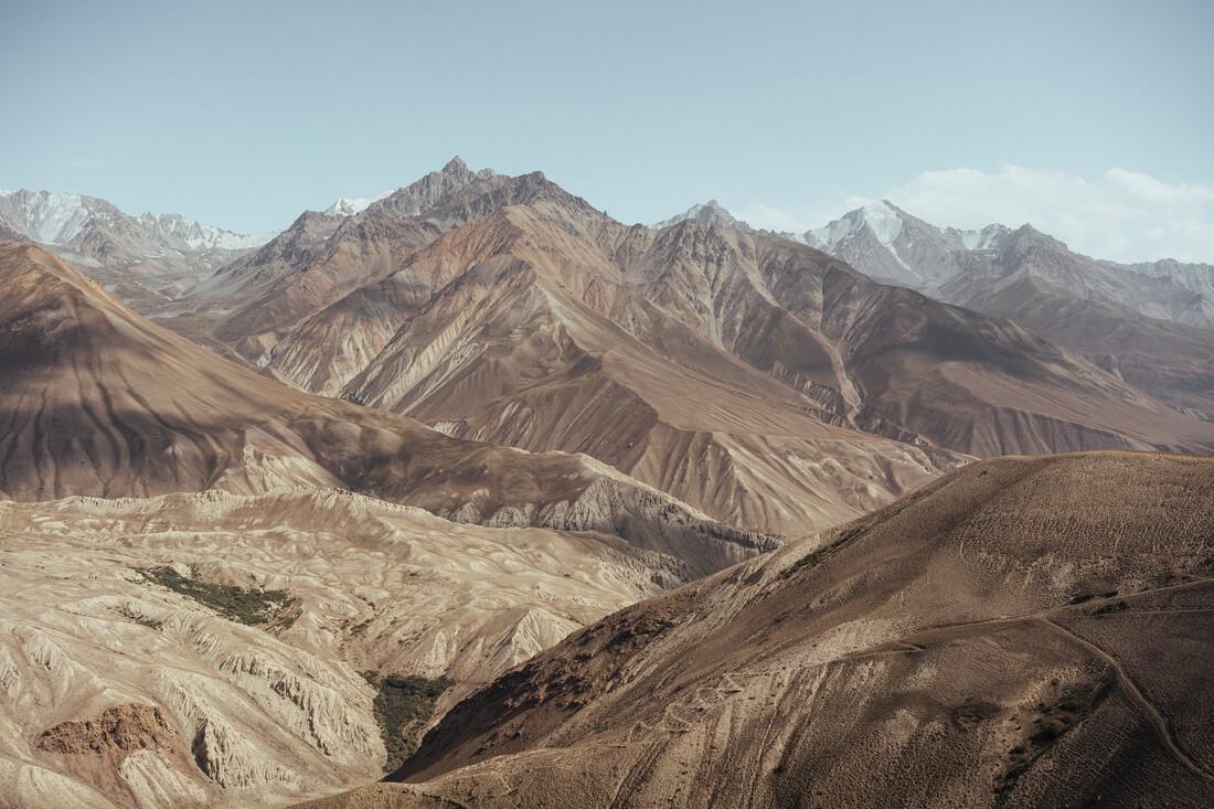 Hindukusch Gebirge in Afghanistan - fotokunst von Claas Liegmann