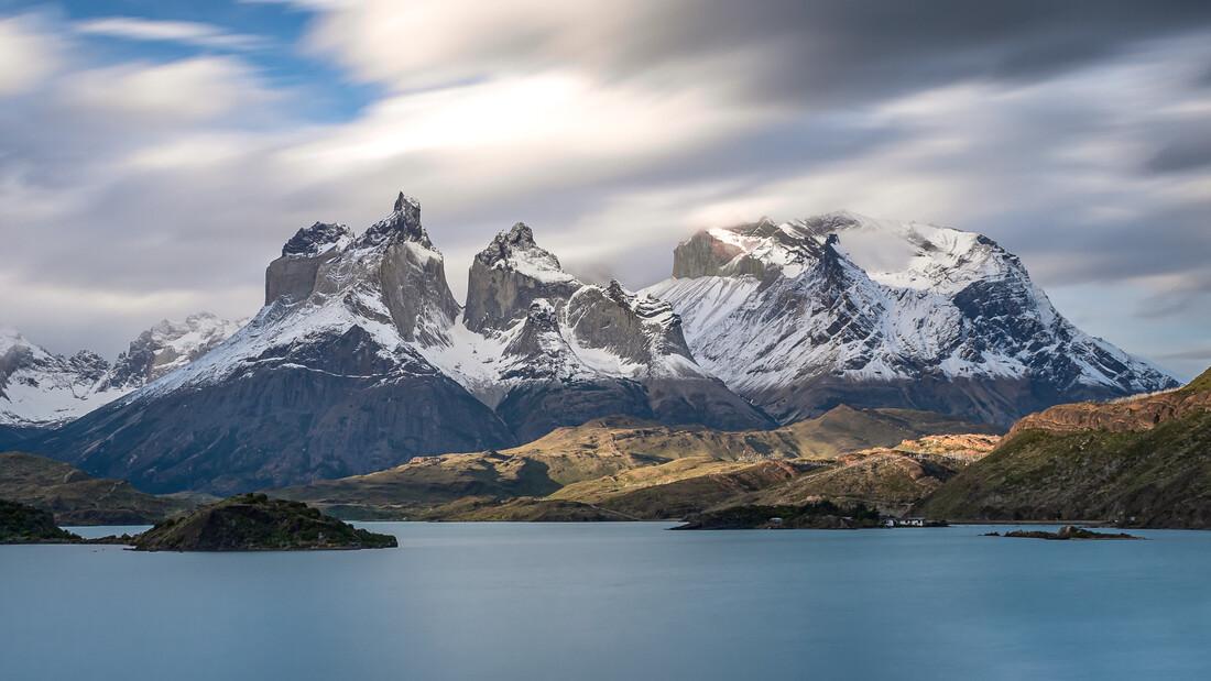 Bewegte Landschaft Patagoniens - fotokunst von Jens Brinkmann