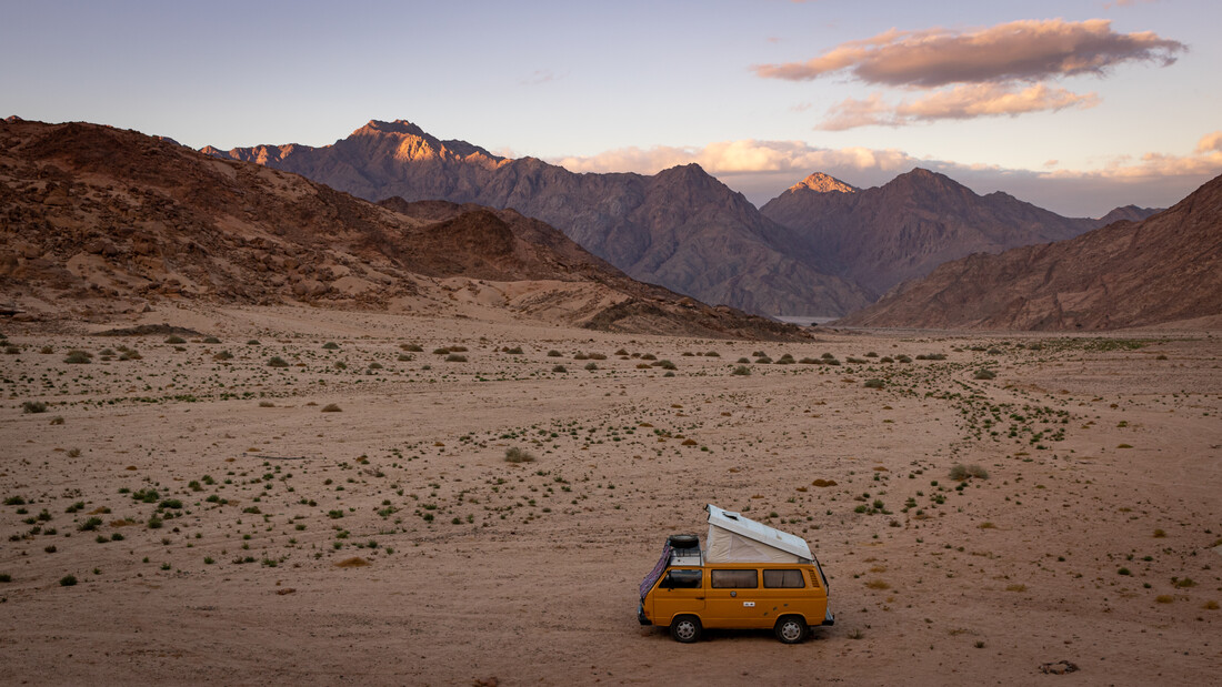 Bully in the Desert - fotokunst von Jens Brinkmann