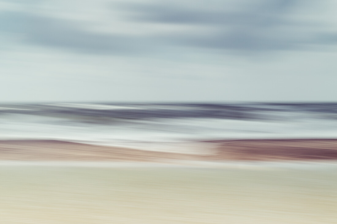 sea waves - fotokunst von Holger Nimtz