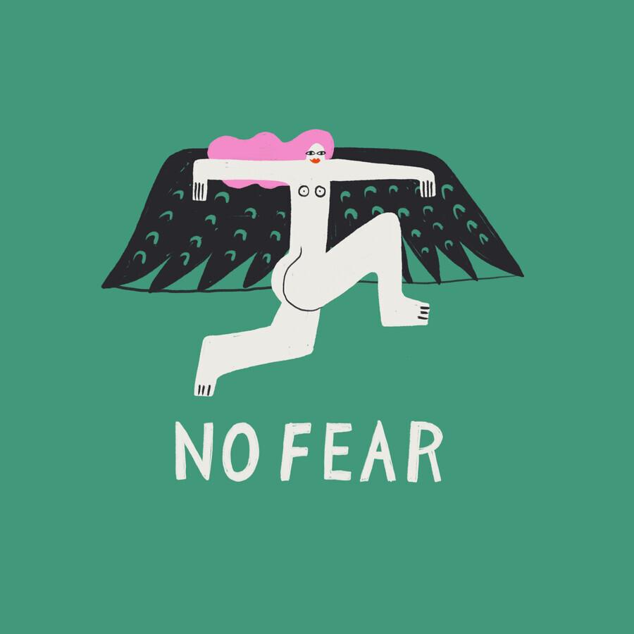 No Fear - fotokunst von Aley Hanson