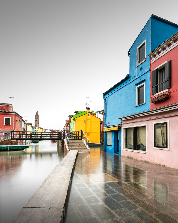 Burano Pathway | Veneto - Fineart photography by Ronny Behnert