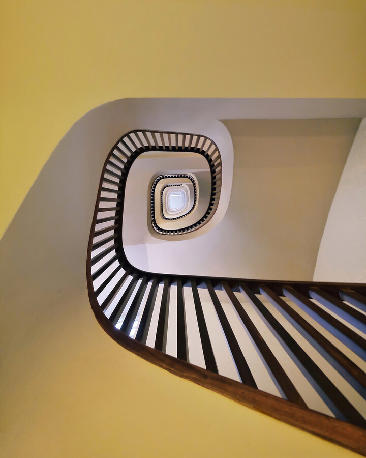 Spiral in yellow - Fineart photography by Roc Isern