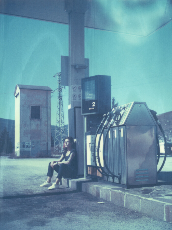at the gasstation - Fineart photography by Jennifer Rumbach