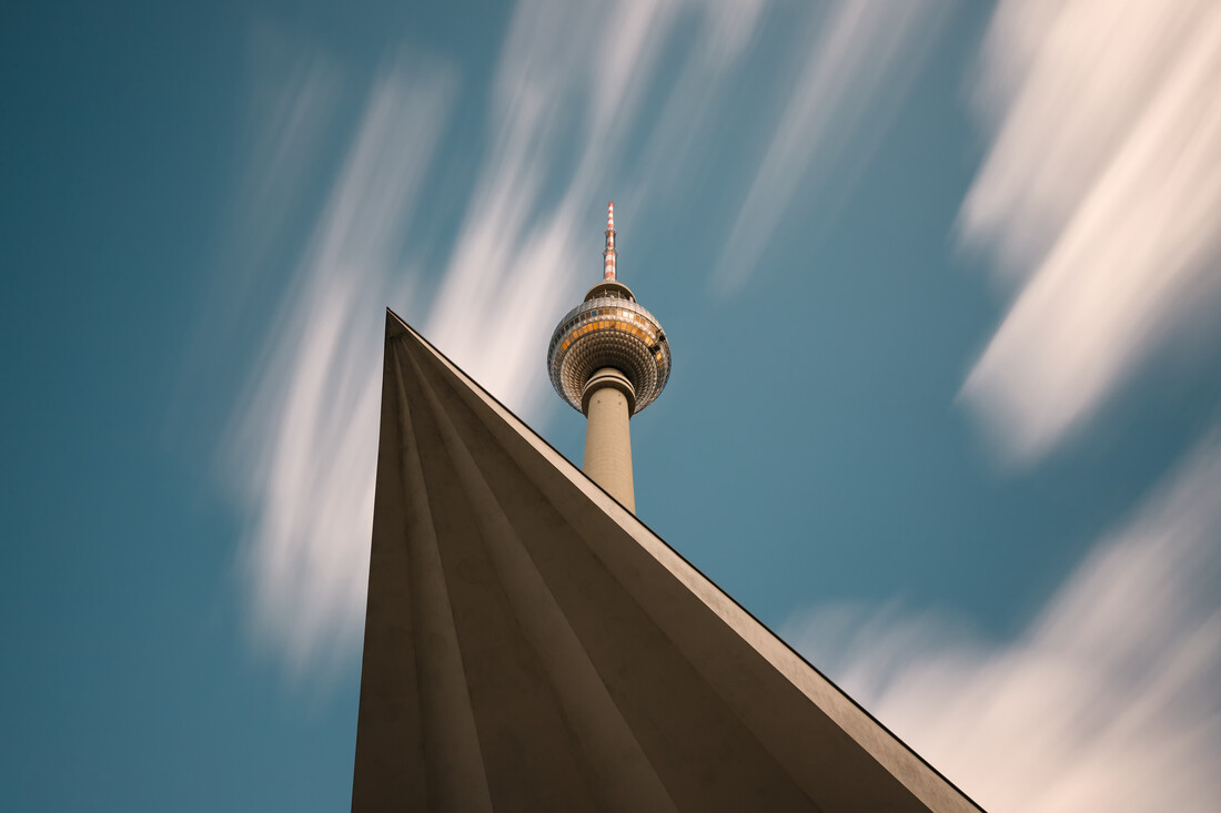 TV Tower at Alex - Fineart photography by Holger Nimtz