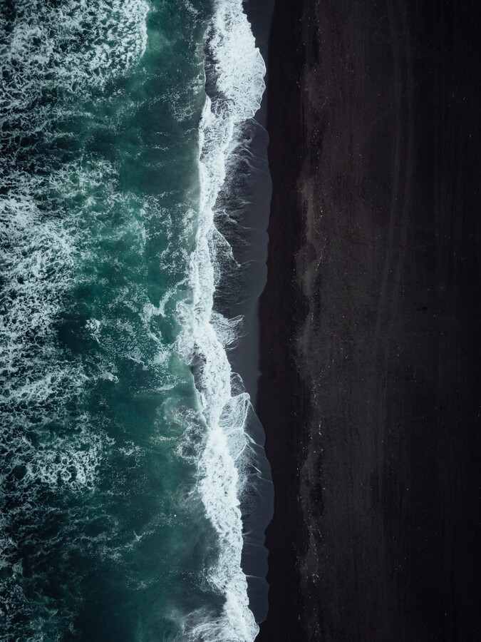 Black Sands of Kamchatka - Fineart photography by Maximilian Fischer