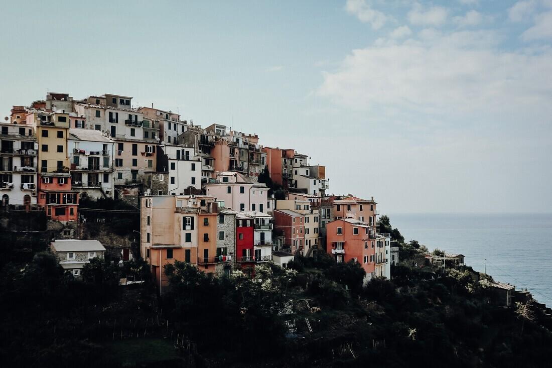 cinque terre - fotokunst von Florian Paulus