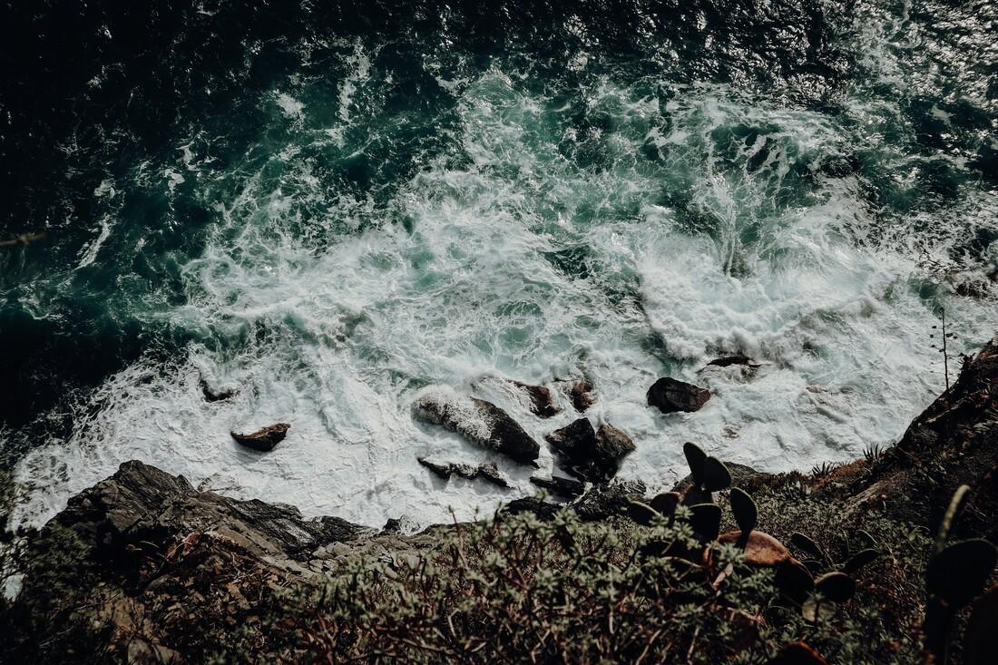 am abgrund - fotokunst von Florian Paulus
