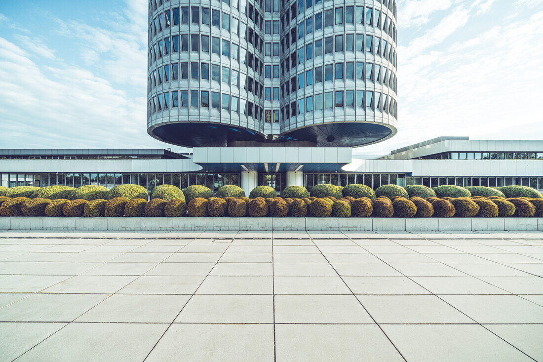 BMW Headquater - Fineart photography by Franz Sussbauer