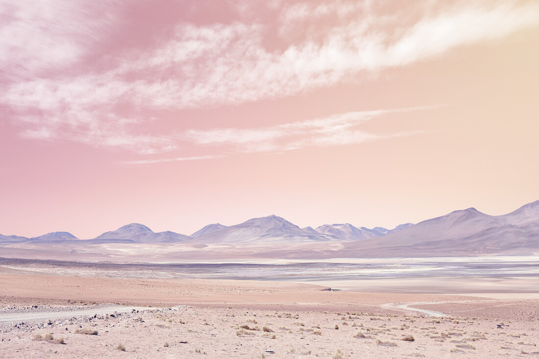 Pastel Mountains - Fineart photography by Matt Taylor