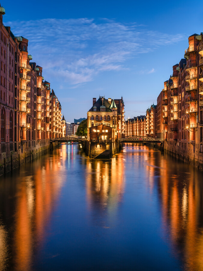 Speicherstadt in Hamburg - Fineart photography by Jan Becke