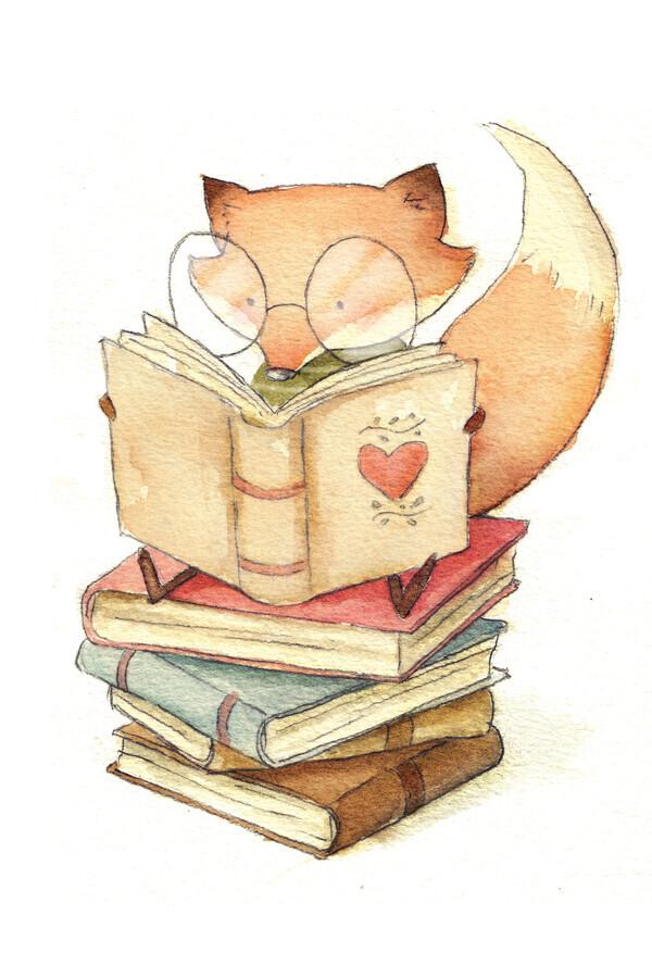 Book Lover - fotokunst von Mike Koubou
