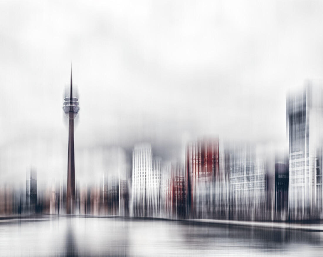 City in Motion II - fotokunst von Klaus-peter Kubik