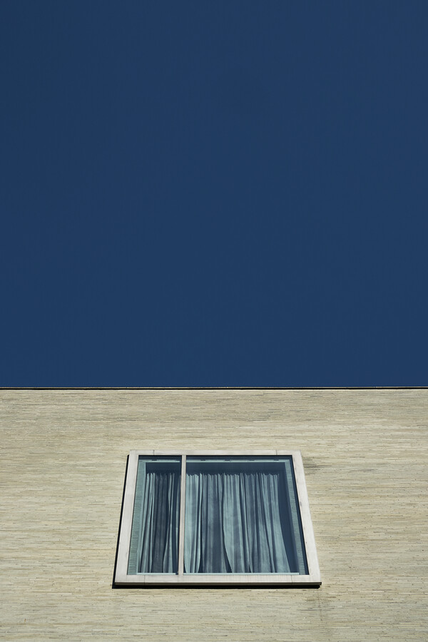 Blue window - Fineart photography by Christopher Horne
