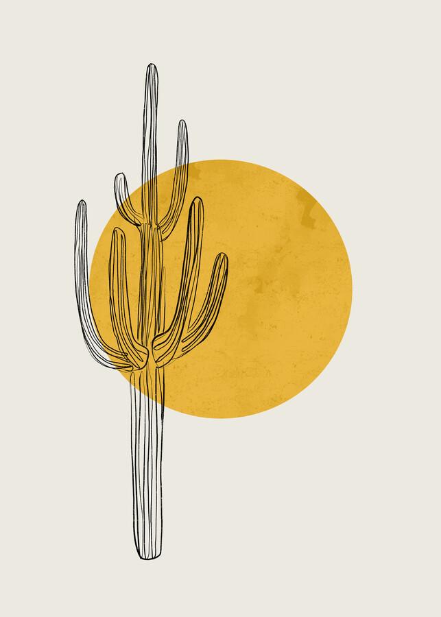 Saguaro von Cats and Dotz - fotokunst von The Artcircle