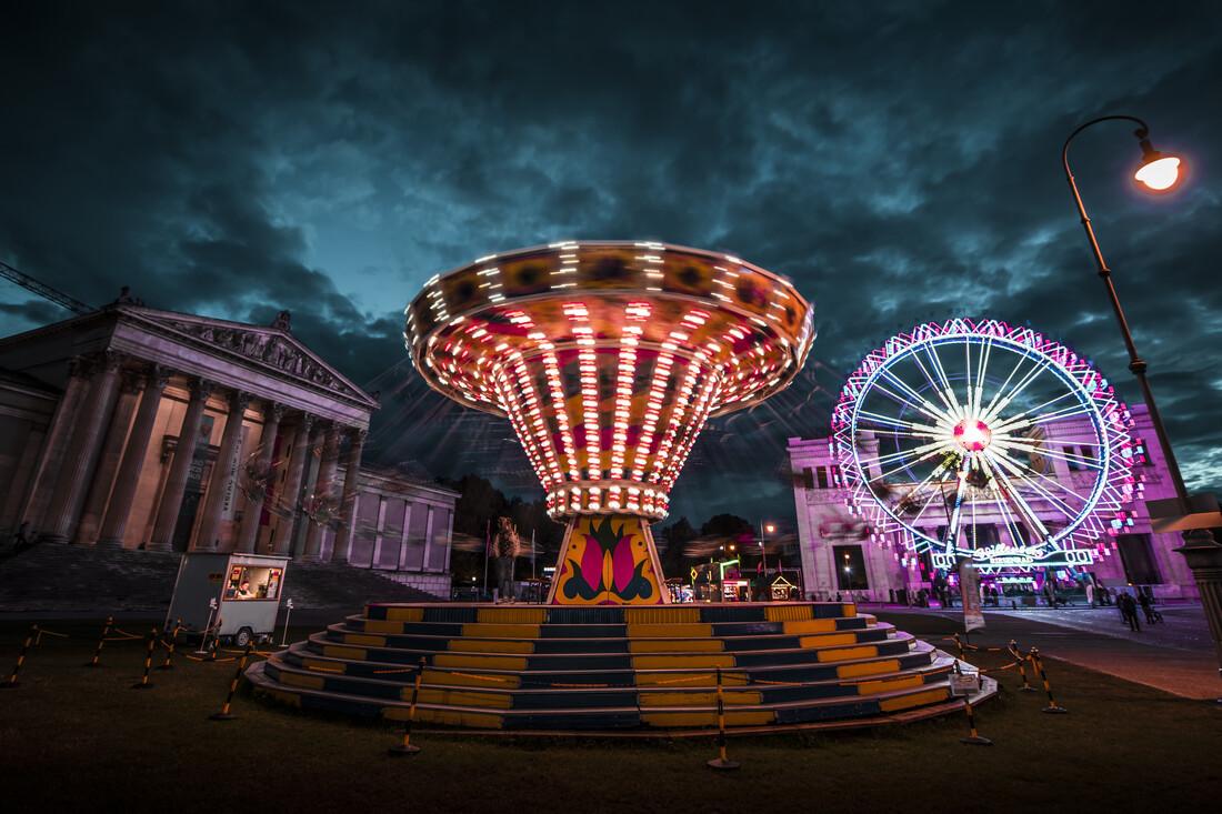 Königsplatz - Fineart photography by Michael Schaidler