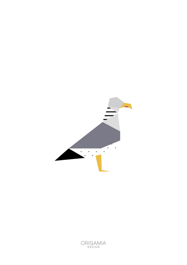 Seagull | Birds Series | Origamia Design - Fineart photography by Anna Maria Laddomada