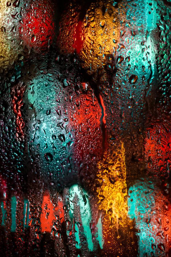 Rainy Day Views - fotokunst von AJ Schokora