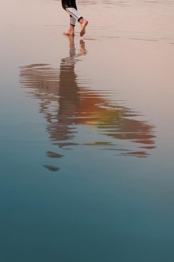 The Surfer - Fineart photography by AJ Schokora