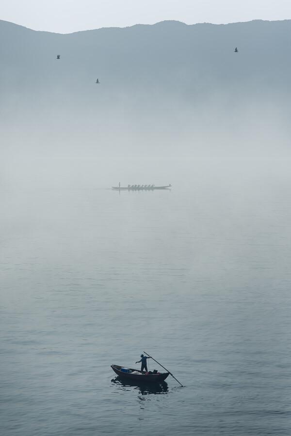 Sunday Morning in Stanley Bay - Fineart photography by AJ Schokora