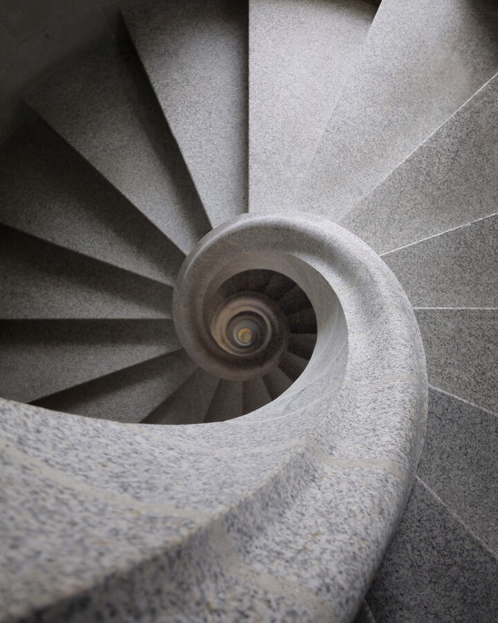 Stone swirl - Fineart photography by Roc Isern