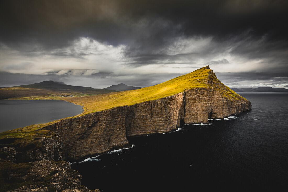Sørvágsvatn lake on Faroe Island Vágar - Fineart photography by Eva Stadler