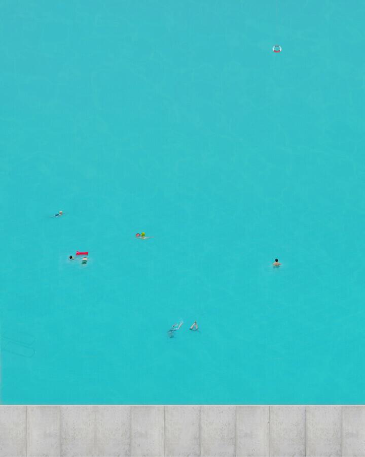 Pool - fotokunst von Christoph Gerhartz