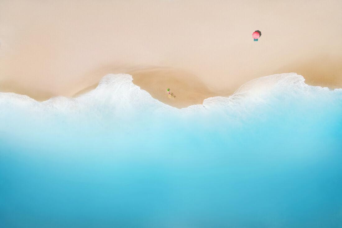 Verlassener Strand - fotokunst von Christoph Gerhartz