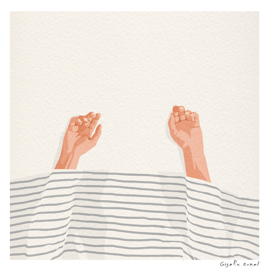 Hands Up - Fineart photography by Giselle Dekel