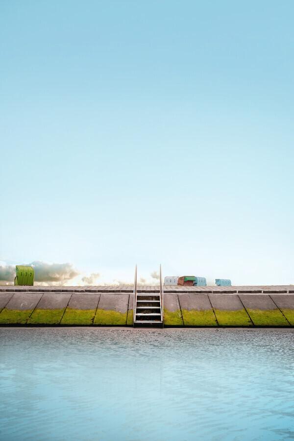 Treppe - fotokunst von Christoph Gerhartz
