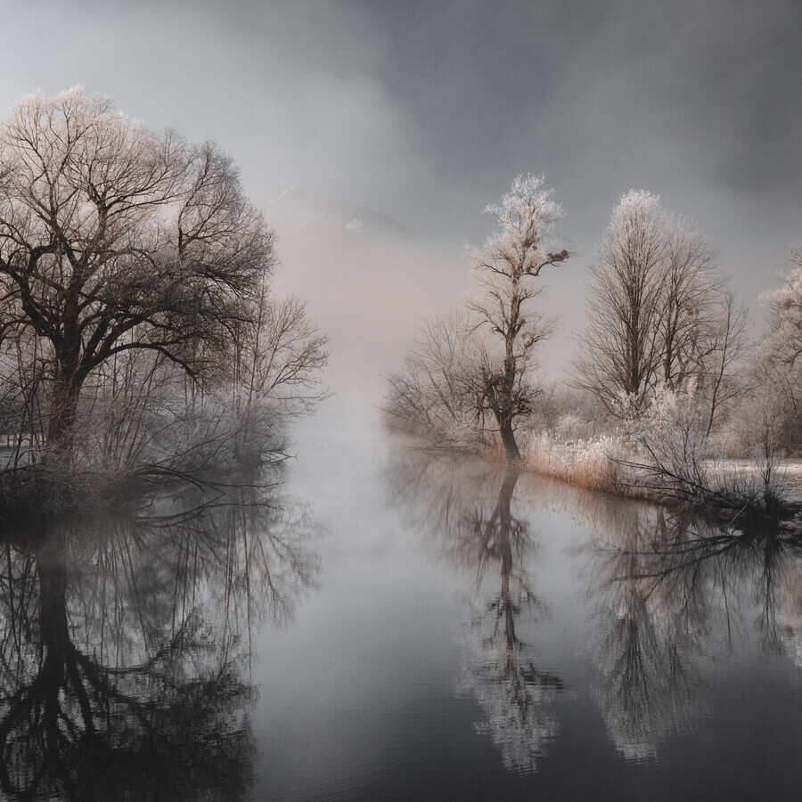 Magic along the water II - Fineart photography by Franz Sussbauer