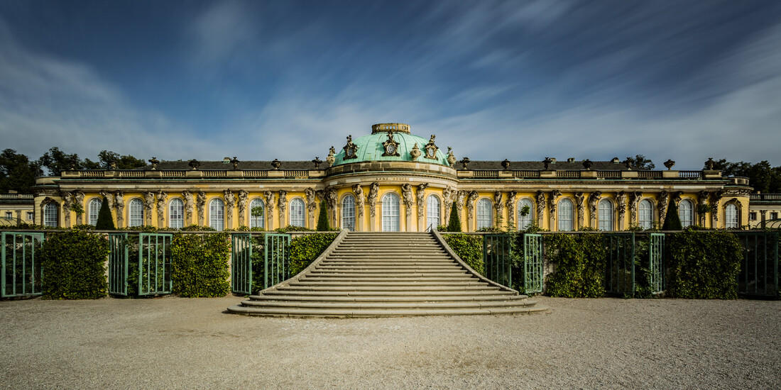 Schloss Sanssouci Potsdam - fotokunst von Sebastian Rost