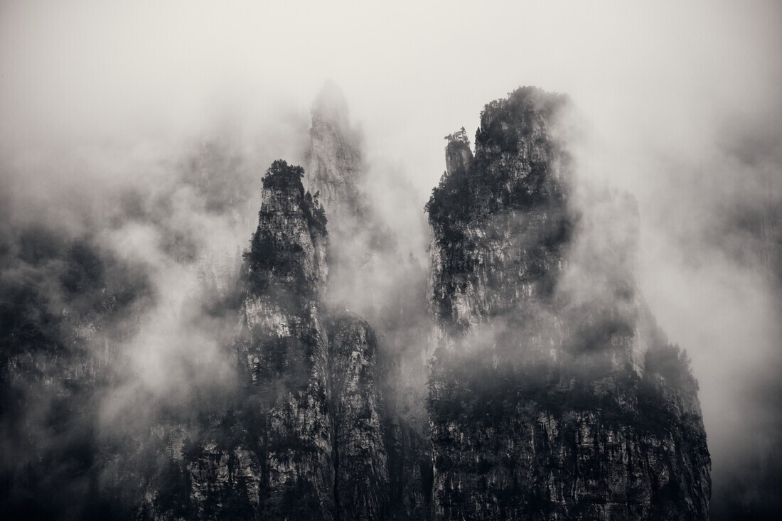 Mysterious Mountains - Fineart photography by Alex Wesche
