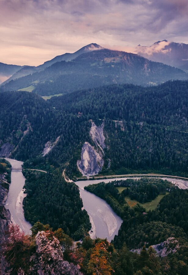 Rhine Gorge - Fineart photography by Alex Wesche