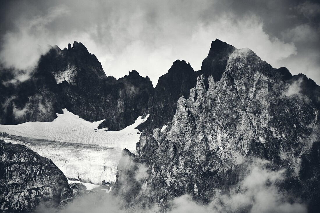 Rugged Mountain Range - Fineart photography by Alex Wesche