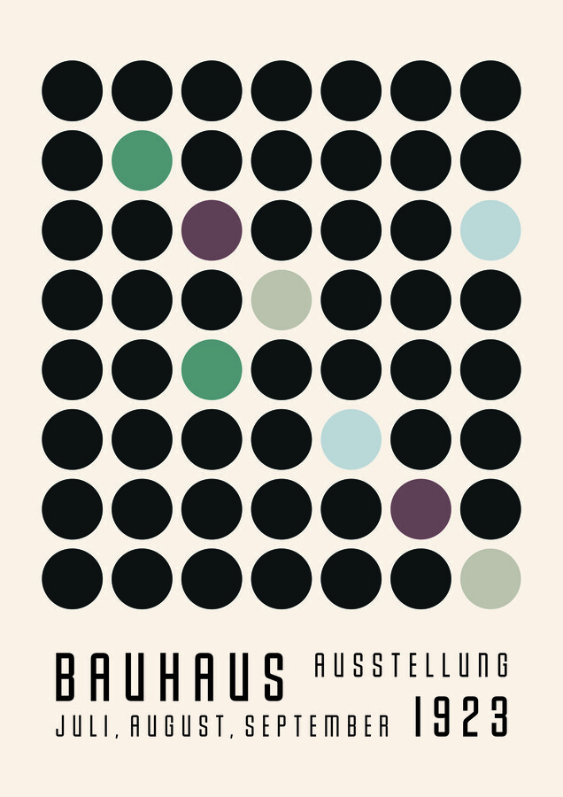 Bauhaus 1923 Weimar Exhibition - Fineart photography by Bauhaus Collection