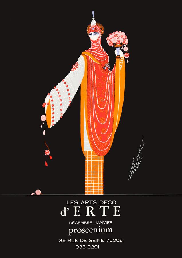Les Arts Deco d'ERTE - Fineart photography by Art Classics