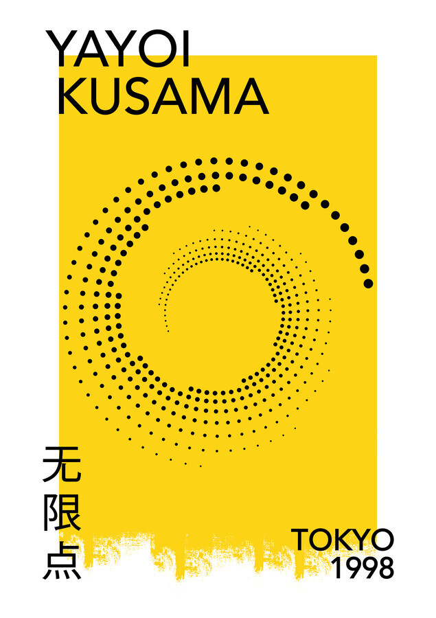Yayoi Kusama, Tokyo 1998 - 2 - Fineart photography by Art Classics