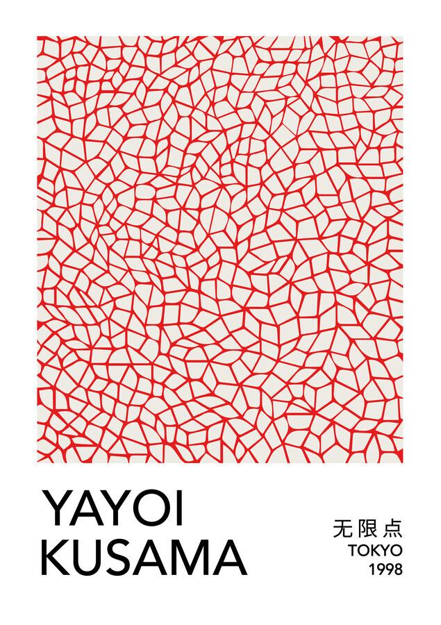 Yayoi Kusama, Tokyo 1998 - 1 - Fineart photography by Art Classics