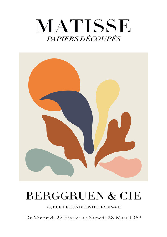 Matisse - Papiers Découpés - Fineart photography by Art Classics