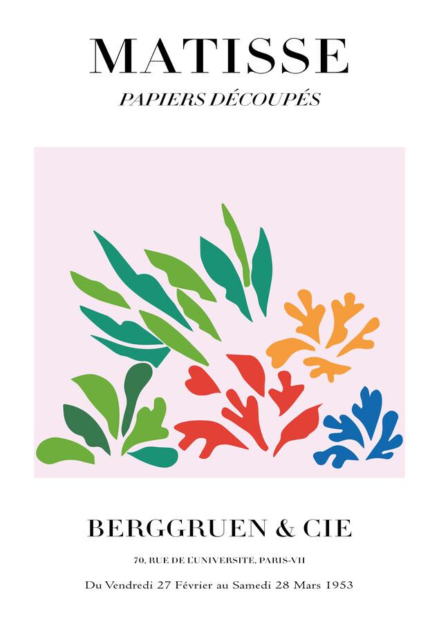 Matisse - Papiers Découpés, colorful botanical design - Fineart photography by Art Classics