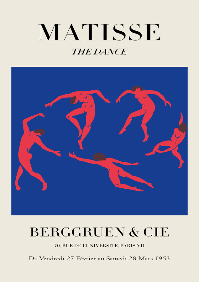 Matisse – The Dance - Fineart photography by Art Classics