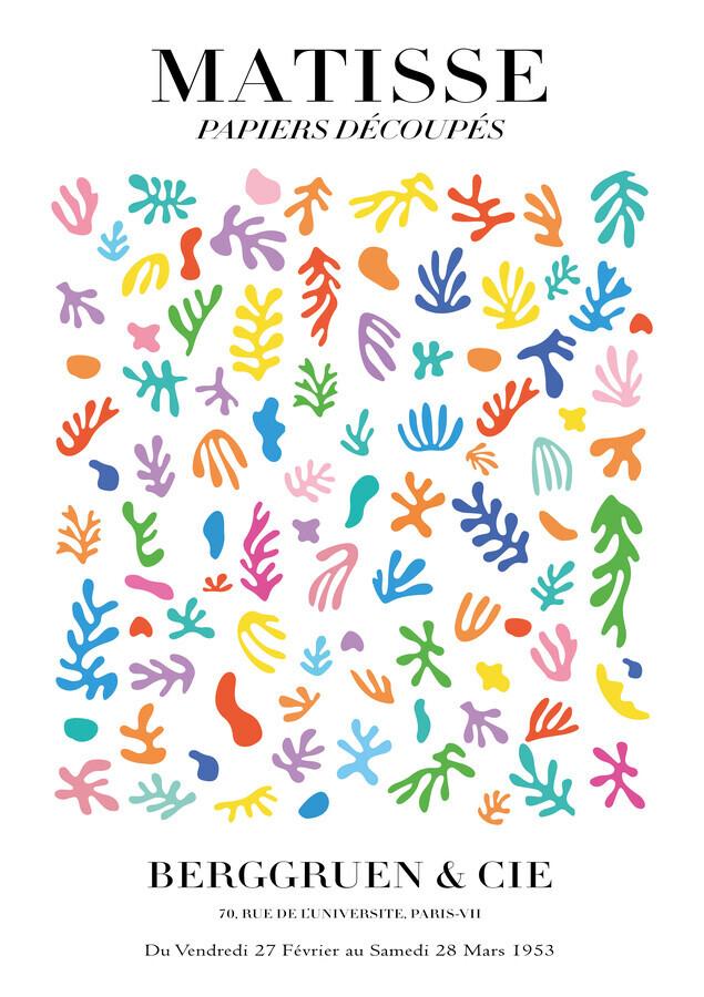 Matisse - Papiers Découpés, colorful - Fineart photography by Art Classics