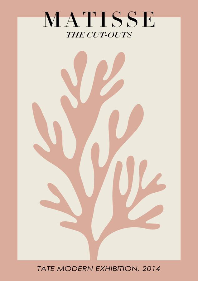Matisse – botanical design rose / beige - Fineart photography by Art Classics