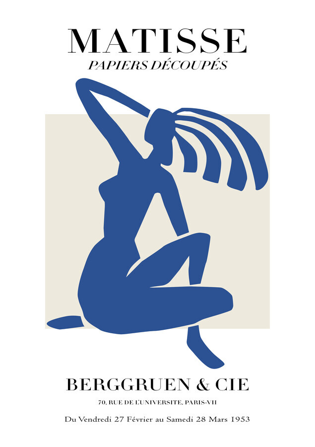 Matisse – Blue Woman - Fineart photography by Art Classics