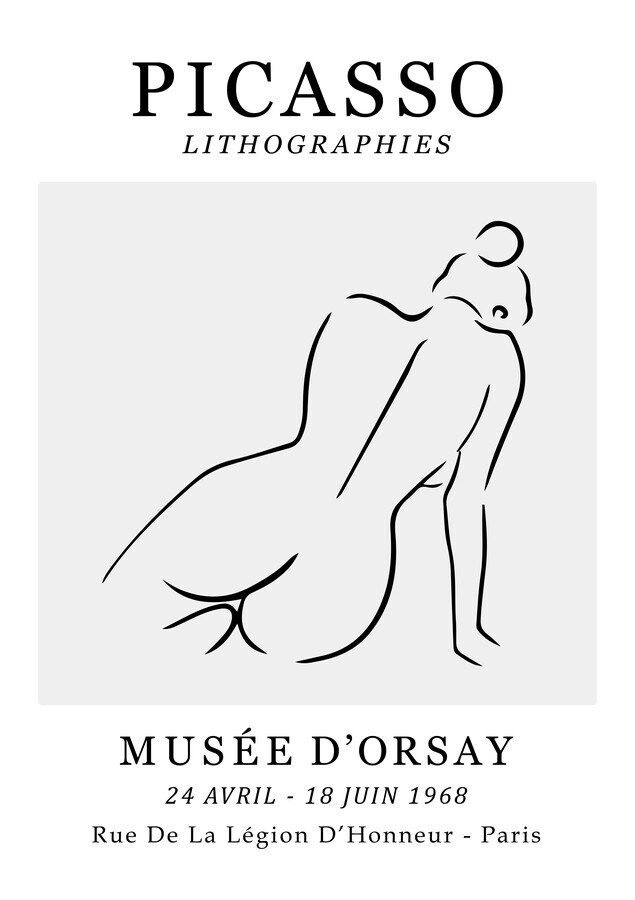 Picasso - Lithographies - Fineart photography by Art Classics