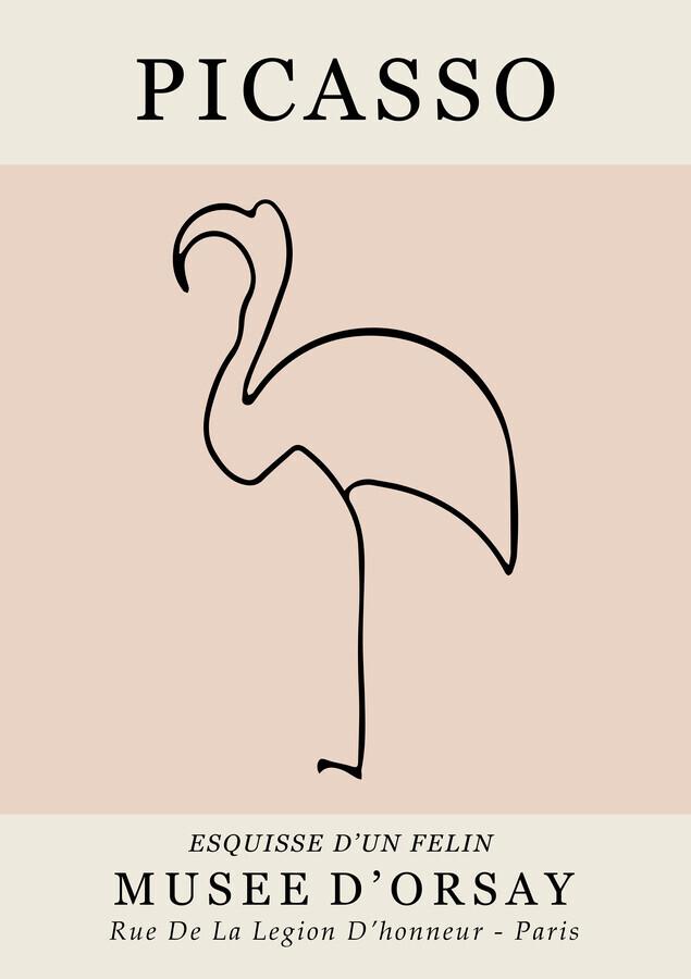 Picasso - Esquisse D'Un Felin - fotokunst von Art Classics
