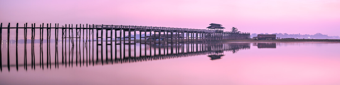 U Bein Bridge in Myanmar - Fineart photography by Jan Becke